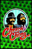 Cheech and Chong Blacklight Poster Print