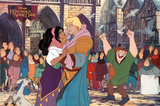 The Hunchback of Notre Dame Movie Disney Poster Print