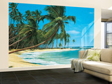 South Sea Beach Landscape Huge Wall Mural Art Print Poster