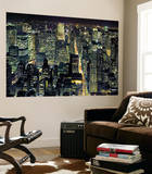 New York City from Empire State Building by Henri Silberman Mini Mural Huge Poster Art Print