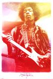 Jimi Hendrix Legendary Music Poster Print Poster