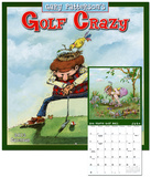 Golf Crazy by Gary Patterson - 2013 12-Month Calendar