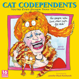 Cat Codependents - 2013 12-Month Calendar