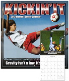 Kickin It: Women's Soccer  - 2013 12-Month Calendar