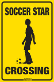 Soccer Star Crossing (Boy)