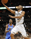 San Antonio, TX - May 27: Tony Parker and Kev