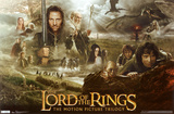 Lord of the Rings Trilogy Poster Print