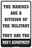 The Marines…