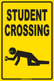 Passage d'étudiants