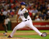 Yu Darvish 2012 Action