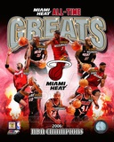 Miami Heat All Time Greats Composite