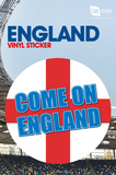 England - Come On Vinyl Stickers