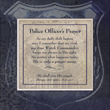 Officer's Prayer Art Print