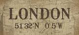 Lattitude and Longitude London