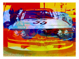Bmw Racing Watercolor Art Print