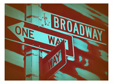 New York Broadway Sign