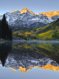 The Maroon Bells in Autumn