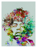 Hendrix Watercolor Premium Poster