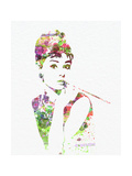 Audrey Hepburn 2 Premium Poster
