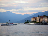 Buy Ferry on Lake Como, Bellagio, Lake Como, Lombardy, Italian Lakes, Italy, Europe at AllPosters.com