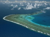 Wide Ribbons of Coral Divide the Continental Shelf From Deep Waters