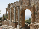Buy Taormina Theater, Taormina, Sicily, Italy, Europe at AllPosters.com