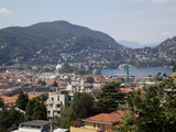 Buy View of the Town of Como, Lake Como, Lombardy, Italian Lakes, Italy, Europe at AllPosters.com