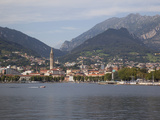 Buy View of Town and Lake, Lecco, Lake Como, Lombardy, Italian Lakes, Italy, Europe at AllPosters.com