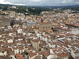 View of Florence from the Dome of Filippo Brunelleschi, Florence, UNESCO World Heritage Site, Tusca