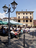 Buy Piazza and Cafe, Menaggio, Lake Como, Lombardy, Italy, Europe at AllPosters.com