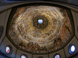 Last Judgement Frescoes of the Dome of Brunelleschi, by Vasari and Zuccari, Florence, UNESCO World