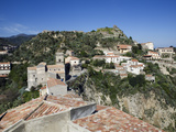 Buy View over Village Used as Set for Filming the Godfather, Savoca, Sicily, Italy, Europe at AllPosters.com