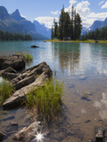 Spirit Island, Maligne Lake, Jasper National Park, UNESCO World Heritage Site, British Columbia, Ro Photographic Print