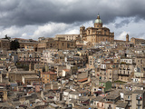 Buy View over the Old Town, Piazza Armerina, Sicily, Italy, Europe at AllPosters.com