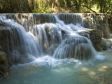 Kouang Si Waterfall and Pools, Near Luang Prabang, Laos, Indochina, Southeast Asia, Asia