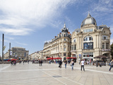 The Place De La Comedie, Montpellier, Languedoc-Roussillon, France, Europe