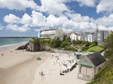 South Beach, Tenby, Pembrokeshire, Wales, United Kingdom, Europe