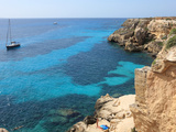 Buy Cliff, Favignana, Sicily, Italy, Mediterranean, Europe at AllPosters.com