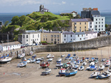 Tenby Harbour, Tenby, Pembrokeshire, Wales, United Kingdom, Europe