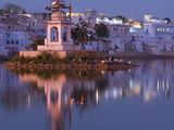 Pushkar Lake, Rajasthan, India, Asia