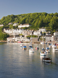 Morning Light on the River Looe at Looe, Cornwall, England, United Kingdom, Europe