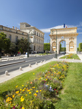 The Arc De Triomphe, Rue Foch, Montpellier, Languedoc-Roussilon, France, Europe