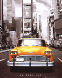 Times Square - NY Taxi No 1 Mini Poster