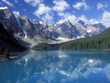 Moraine Lake in the Valley of Ten Peaks, Canada
