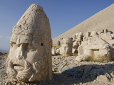 Bearded Stone Head of Zeus-Oromasdes, Mount Nemrut, Adiyaman, Eastern Turkey