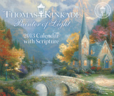 Thomas Kinkade Painter of Light with Scripture - 2013 Day-to-Day Calendar