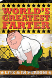 Family Guy - World's Greatest Farter, Distressed