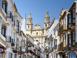 The Parish of Our Lady of the Incarnation Framed by Typical Architecture, Olvera, Cadiz Province, A