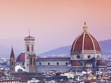 Buy Italy, Florence, Western Europe, the 'Duomo' of Which the Cupola Is Designed by Famed Italian Archi at AllPosters.com