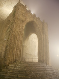 Buy Sicily, Italy, Western Europe, Detail from the Erice Cathedral in High Humidity at AllPosters.com